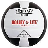 Tachikara SVMNC Volley-Lite Ballon de Volleyball Noir/Blanc