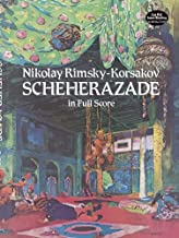 Nikolay Rimsky-Korsakov Sheherazade (Full Score) Orch (Dover Music Scores) by Various (1997) Paperback