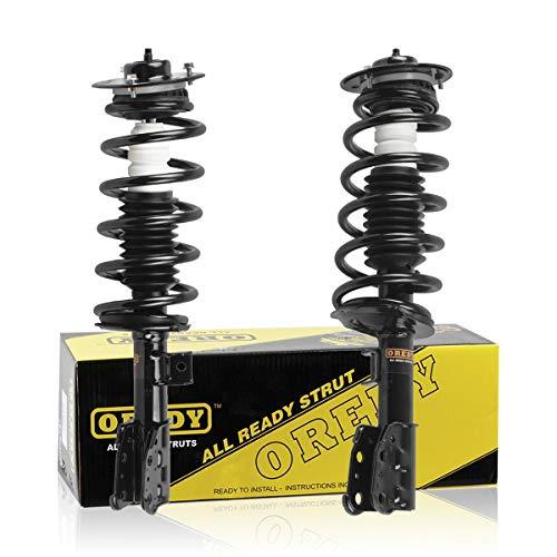OREDY Struts 2PCS Front Shocks Struts 172210 172209 11011 11012 Shocks and Struts Complete Struts Assembly Shocks Coil Spring Suspension Struts Kit Compatible with Equinox 05 06 Torrent 2006