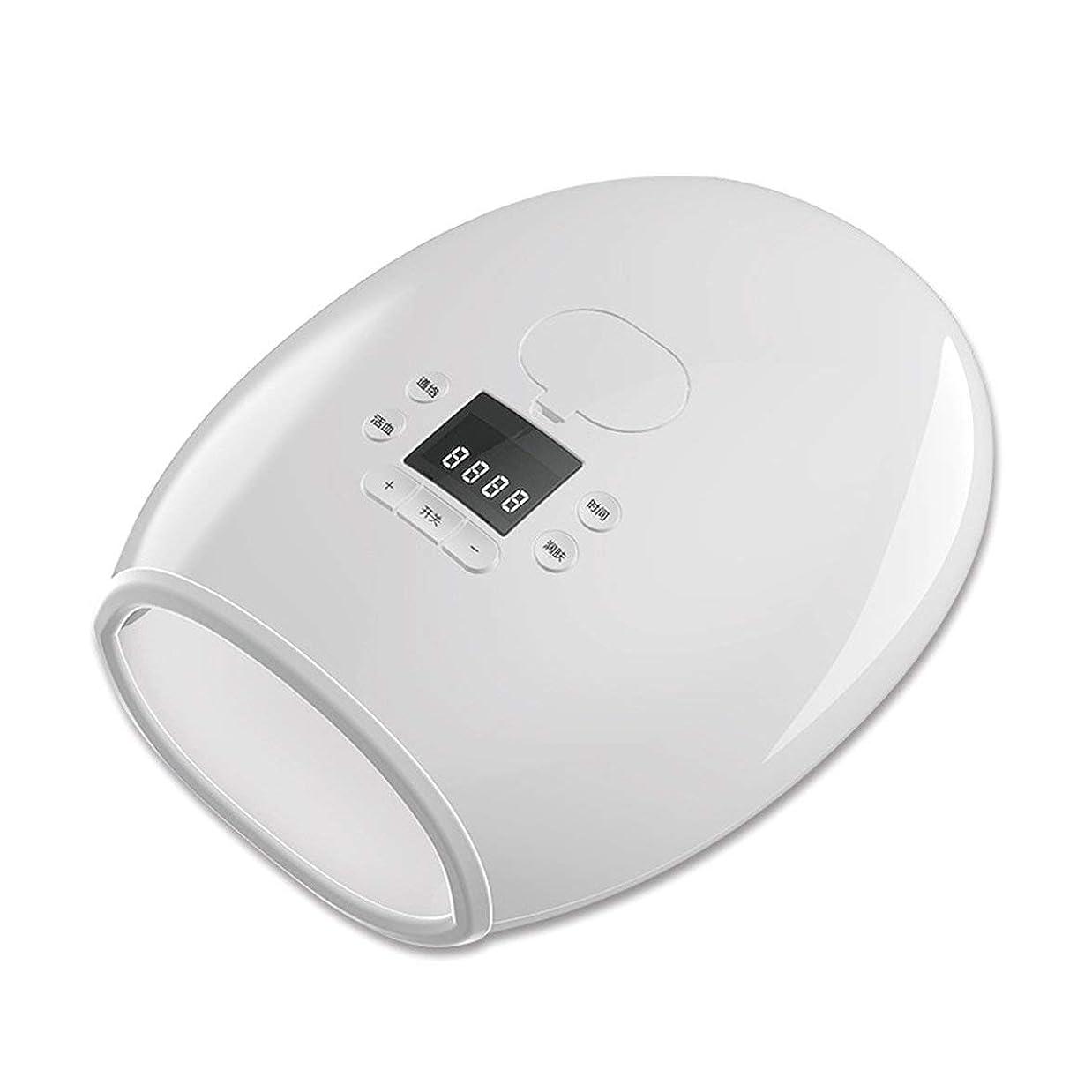 ピンポイント天皇溶岩Intercorey Massage Beauty Tool Hand Warm Hand Hydrating Care Palm Massager Hand Electric Heating Massage Instrument