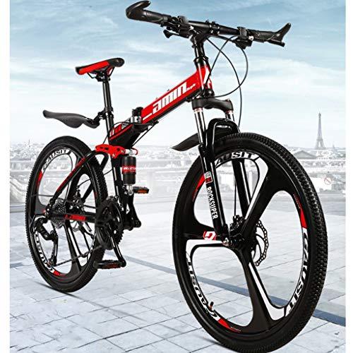 petit un compact 26 pouces 21 vitesses vélo de montagne pliant adulte femme homme vélo de banlieue roue à rayons / intégré…