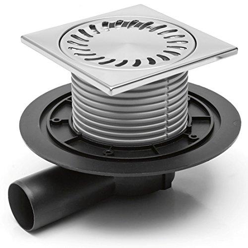 Duschablauf - Badablauf - Bodenablauf-150x150 mm - DN50 - (381-E)
