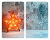 WENKO Placas cobertoras de vidrio universales Star, Cubierta