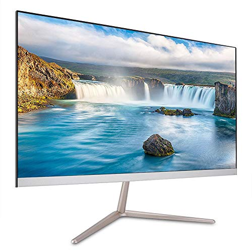 Pantalla, 21.5 Pulgadas 1920 * 1080 HDMI LED Pantalla de computadora Pantalla Gaming TV Monitor HD para Jugar, Ver películas(EU)