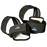 Achieve Fit Deadlift Straps for Powerlifting – Weightlifting Wrist Wraps with Non-Slip Silicone Bar Grip and Padding – 12.5 inch per Lifting Strap – Lift Heavier Longer