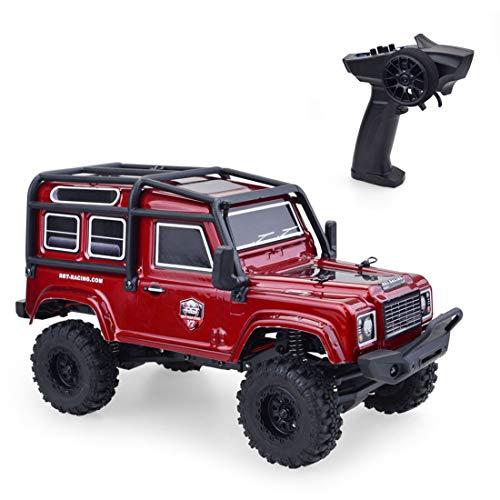 Vipo RGT ADUENTURER 136240 V2 Mini RC Crawler 1/24 D90 15 km/h Coche teledirigido Land Rover Off-Road – Versión RTR