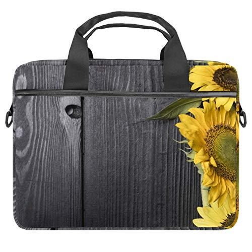 Bolsa para portátil con asa de 13.4 a 14.5 pulgadas, diseño tropical, palmera, palmera de coco