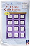 Jack Dempsey Needle Art Precious Angels Quilt Blocks, Approximate finished size: 48″ x 37″, white