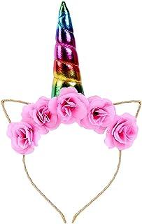 Beaupretty Katzenohren Stirnb/änder 7 St/ück Bunte Blume Haarband Rose Cat Stirnband f/ür Cosplay Frauen M/ädchen