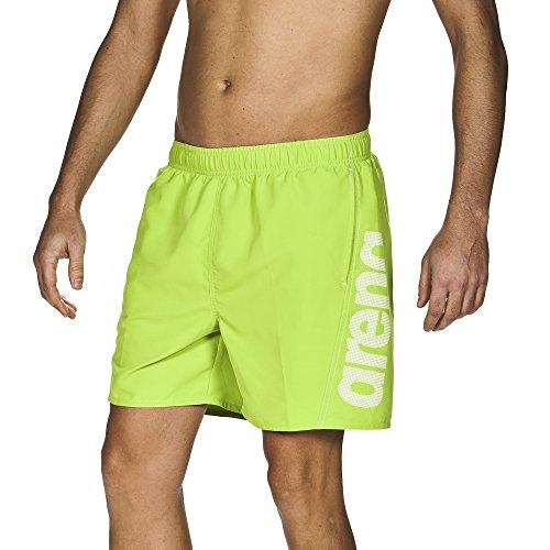 Arena Fundamentals costume da bagno, Uomo, Uomo,  Verde (foglia) / bianco, M