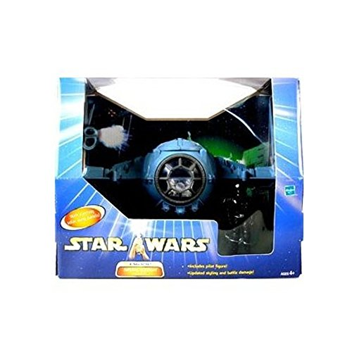 Hasbro Imperial Dogfight TIE Fighter inkl. Pilot Star Wars Saga Collection 2003
