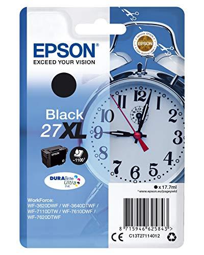 Epson C13T27114022 - Cartucho de tinta, XL, color negro