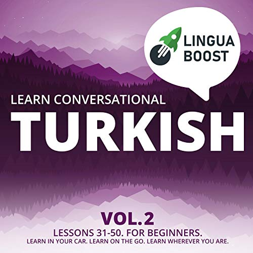 『Learn Conversational Turkish Vol. 2』のカバーアート