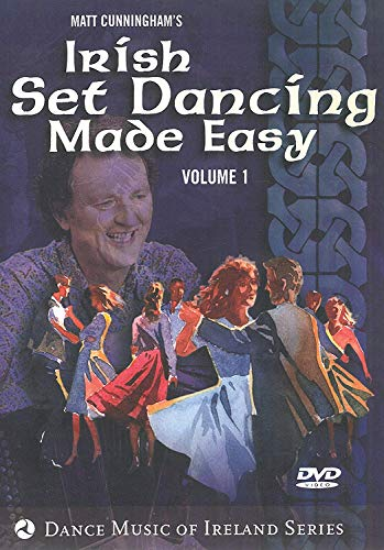 Irish Set Dancing Made Easy Volume 1 DVD The Claddagh Set,The Sliabh Luachra Set,The Clare Orange and Green