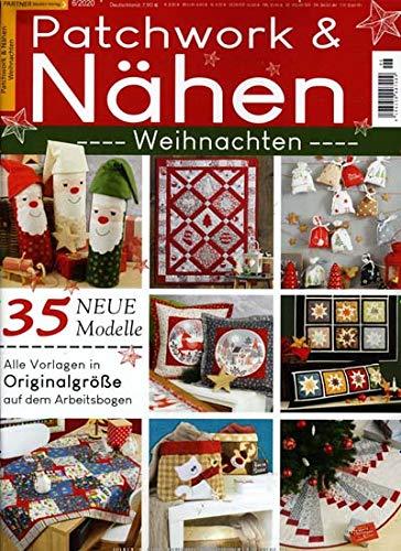 """Patchwork und Nähen 6/2020 \""""Weihnachten\"""""""