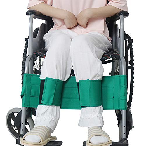 QinnLinn Rollstuhl-Sicherheitsgurt, Rollstuhl-Beingurt Rollstuhl-Sicherheitsgurt Medizinische Sicherheit Transport-Fußstützgurt für Senioren und Senioren, Zubehör für Behinderte,1