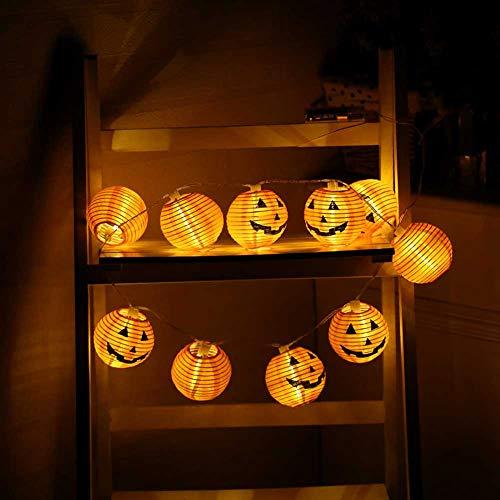 Guirnalda de luces de fútbol, resistente al agua, 10 LED, decoración del hogar, para fiestas, bodas, Halloween, Navidad, jardín y ambiente festivo con funda de batería (blanco cálido)