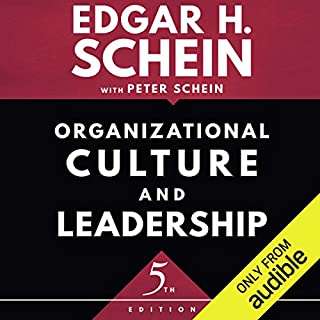 Organizational Culture and Leadership, Fifth Edition                   By:                                                                                                                                 Edgar H. Schein,                                                                                        Peter Schein                               Narrated by:                                                                                                                                 Noah Michael Levine                      Length: 12 hrs and 34 mins     3 ratings     Overall 5.0