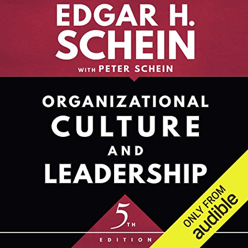 Organizational Culture and Leadership, Fifth Edition cover art