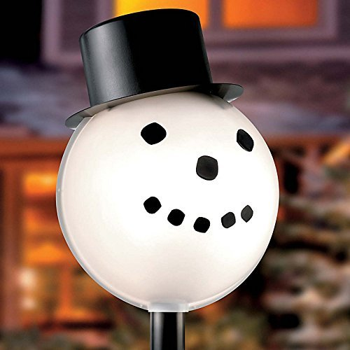 See the TOP 10 Best<br>Outdoor Lamp Post Snowman