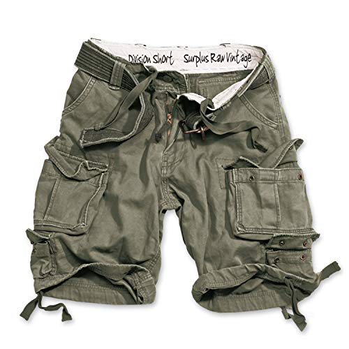 Trooper Division Shorts Lightning Edition Oliv - L