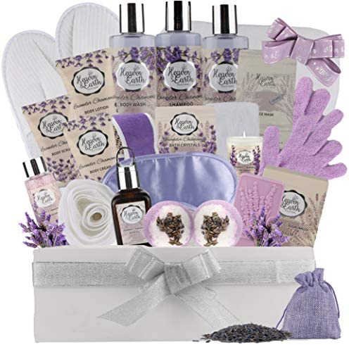 XL Spa Gift Basket for Women Men Complete Bath Body Gift Set for Her Him Couple Basket Exclusive product image