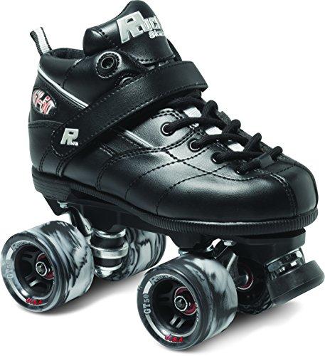 Sure-Grip Rock GT-50 Roller Skate Package - Black sz Mens 14