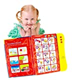 ABC Sound Book for Children. English Letters & Words learning toys for 2 year olds, Fun Educational Toys. Activities With Numbers, Shapes, Colors and Animals for Toddlers. Gift for Girls and Boys