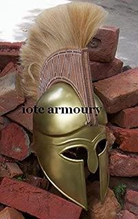 NAUTICALMART Medieval Greek Corinthian Helmet Spartan Costume Armor