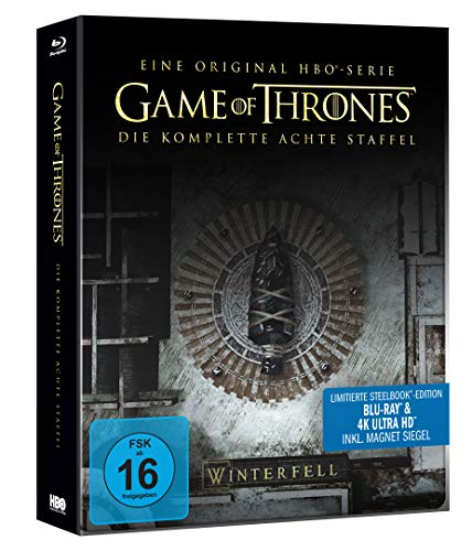 Game of Thrones - Staffel 8 (Limitiertes 4K Ultra HD Steelbook) [Blu-ray] [Limited Edition]