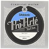 D'Addario BNH-3T Pro-Arte Nylon Jeu de 3 cordes aigues pour Guitare classique - tension forte