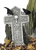 Halloween de la tumba de piedra, 60x38 cm,