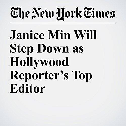 Janice Min Will Step Down as Hollywood Reporter's Top Editor copertina