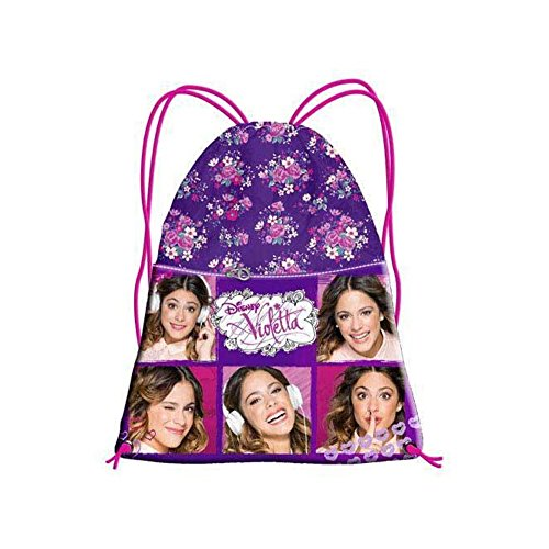 Sacca zaino Violetta Disney - Fancy Collage