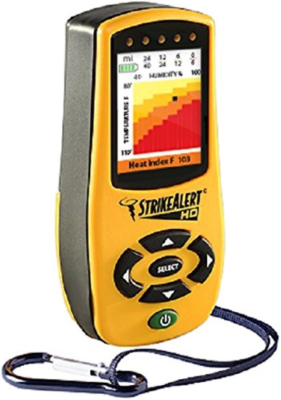 StrikeAlert HD Field Lightning Detector Weather Station with Heat Index