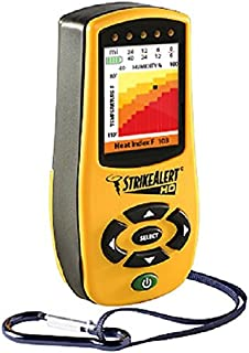 StrikeAlert HD Field Lightning Detector Weather Station with Heat Index