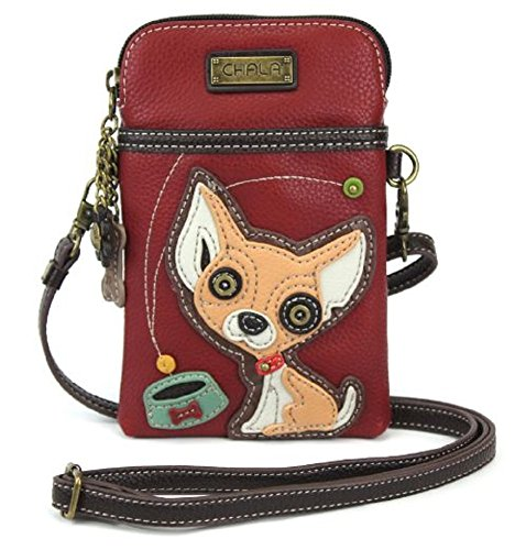 Chala Crossbody Cell Phone Purse - Women PU Leather Multicolor Handbag...