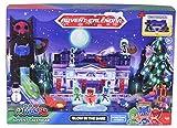 Dickie Toys 203149003 - Calendario dell'Avvento per Bambini con 3 Veicoli Die-Cast e 5 Personaggi, da Appendere o appoggiare, Multicolore