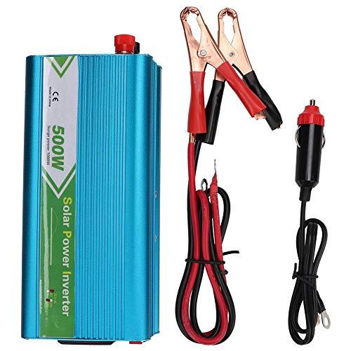 Car Power Inverter Converter, 1000W DC 12V to AC 220V Sine Wave Car Inverter with USB Port, AC Outlet