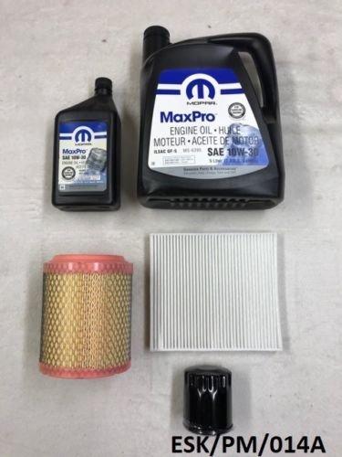 Mopar Engine Medium kit d'entretien Calibre PM 2.0l & 2.4l 2011–2012 10 W30