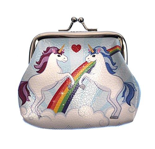 Preisvergleich Produktbild Magic Rainbow Unicorn Mini Clipper Coin Purse