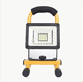 YFJL Floodlight Portable Light Mobile Power - Vaincre Outdoor Camping Lights LED Spotlights Work Lights with Magnet Base - Built-in