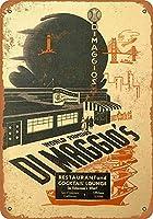 1936 DiMaggio's Restaurant Collectibleウォールアート