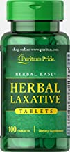 Puritan's Pride Herbal Laxative-100 Tablets
