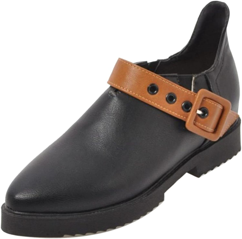 KemeKiss Women Fashion Slip On shoes Thick Sole