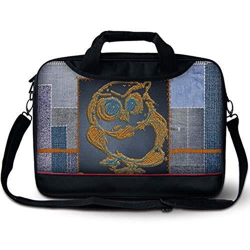 Luxburg® 15,6 Zoll Messenger Bag Umhängetasche Laptoptasche Notebooktasche mit Tragegurt Tasche für Laptop/Notebook Computer Business Bag