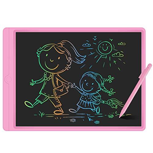 GUYUCOM Tableta de Escritura LCD de 13.5 Pulgadas, Pizarra Digital para Niños, Pizarra Magica de Líneas Brillantes y Coloridas para Niños,Excelentes Tablet para Dibujo Niños para Niños y Niñas