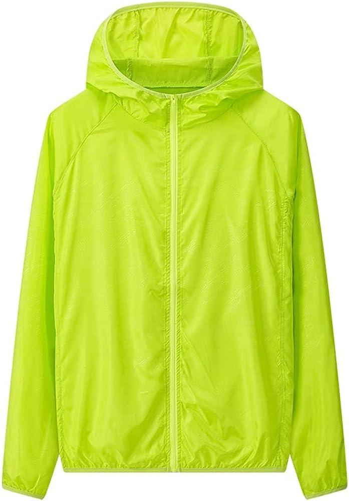 SELILALI NEW Women's Men's UV UPF low-pricing 50+ Sun Outdoor Jacket Proof Hoode