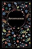 Affenpinschers: Beautiful Notebook Gift for Affenpinschers Lovers, Elegant Floral Cover, 100 pages, 6'x9' Lightweight and Compact, Premium Matte Finish