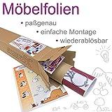 Stadt/City/Auto/Straße Möbelfolie/Aufkleber - LCK05 - passgenau für den Lack Couchtisch (90 x 55 cm) von IKEA - In wenigen Minuten zum einzigartigen Spieltisch für Kinder! (Möbel Nicht inklusive) - 3